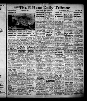 Primary view of object titled 'The El Reno Daily Tribune (El Reno, Okla.), Vol. 56, No. 198, Ed. 1 Tuesday, October 21, 1947'.