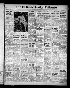 Primary view of object titled 'The El Reno Daily Tribune (El Reno, Okla.), Vol. 53, No. 149, Ed. 1 Tuesday, August 22, 1944'.