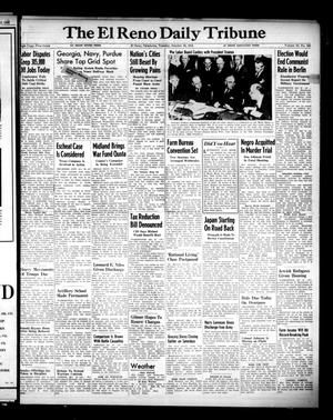 Primary view of object titled 'The El Reno Daily Tribune (El Reno, Okla.), Vol. 54, No. 192, Ed. 1 Tuesday, October 16, 1945'.
