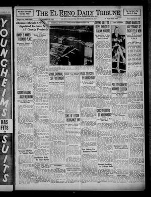 Primary view of object titled 'The El Reno Daily Tribune (El Reno, Okla.), Vol. 49, No. 210, Ed. 1 Thursday, October 31, 1940'.