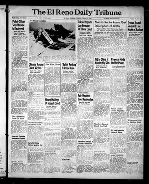 Primary view of object titled 'The El Reno Daily Tribune (El Reno, Okla.), Vol. 53, No. 184, Ed. 1 Tuesday, October 3, 1944'.