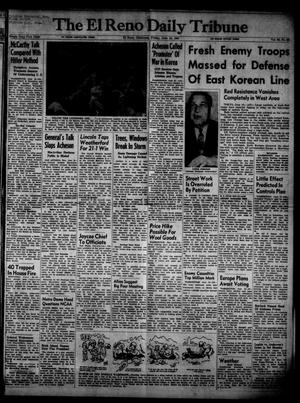 Primary view of object titled 'The El Reno Daily Tribune (El Reno, Okla.), Vol. 60, No. 92, Ed. 1 Friday, June 15, 1951'.