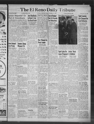 Primary view of object titled 'The El Reno Daily Tribune (El Reno, Okla.), Vol. 55, No. 223, Ed. 1 Sunday, November 17, 1946'.