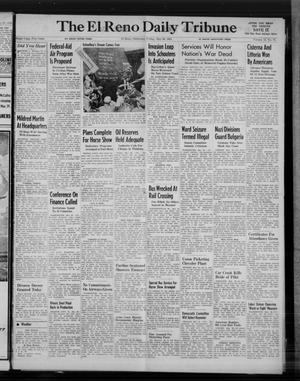 Primary view of object titled 'The El Reno Daily Tribune (El Reno, Okla.), Vol. 53, No. 75, Ed. 1 Friday, May 26, 1944'.