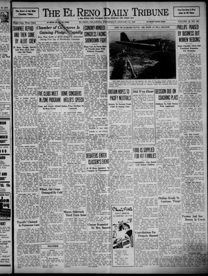 Primary view of object titled 'The El Reno Daily Tribune (El Reno, Okla.), Vol. 48, No. 290, Ed. 1 Wednesday, January 31, 1940'.