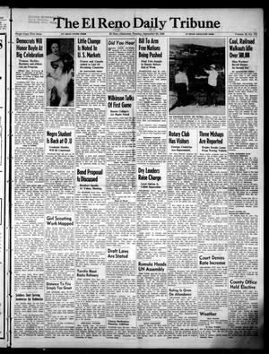 Primary view of object titled 'The El Reno Daily Tribune (El Reno, Okla.), Vol. 58, No. 172, Ed. 1 Tuesday, September 20, 1949'.