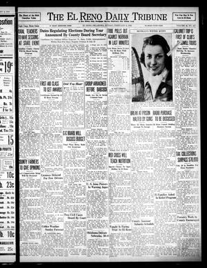 Primary view of object titled 'The El Reno Daily Tribune (El Reno, Okla.), Vol. 46, No. 287, Ed. 1 Sunday, February 6, 1938'.