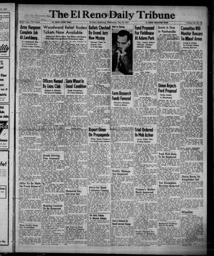 Primary view of object titled 'The El Reno Daily Tribune (El Reno, Okla.), Vol. 56, No. 76, Ed. 1 Wednesday, May 28, 1947'.