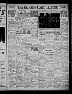 Primary view of object titled 'The El Reno Daily Tribune (El Reno, Okla.), Vol. 49, No. 229, Ed. 1 Friday, November 22, 1940'.
