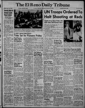 Primary view of The El Reno Daily Tribune (El Reno, Okla.), Vol. 60, No. 231, Ed. 1 Wednesday, November 28, 1951