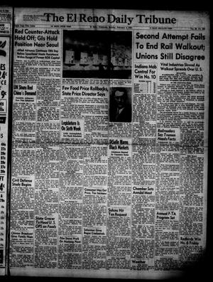 Primary view of object titled 'The El Reno Daily Tribune (El Reno, Okla.), Vol. 59, No. 290, Ed. 1 Sunday, February 4, 1951'.