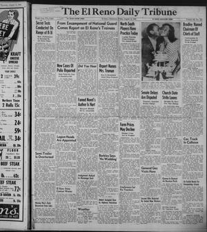 Primary view of object titled 'The El Reno Daily Tribune (El Reno, Okla.), Vol. 58, No. 140, Ed. 1 Friday, August 12, 1949'.