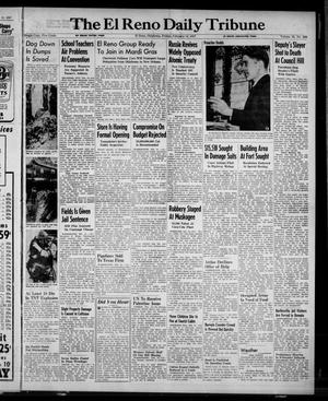Primary view of object titled 'The El Reno Daily Tribune (El Reno, Okla.), Vol. 55, No. 299, Ed. 1 Friday, February 14, 1947'.