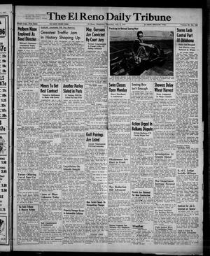 Primary view of object titled 'The El Reno Daily Tribune (El Reno, Okla.), Vol. 56, No. 106, Ed. 1 Thursday, July 3, 1947'.