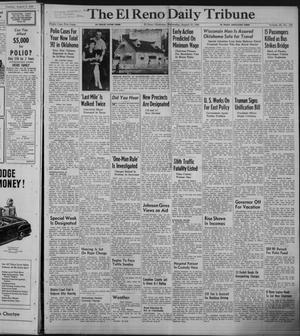 Primary view of object titled 'The El Reno Daily Tribune (El Reno, Okla.), Vol. 58, No. 138, Ed. 1 Wednesday, August 10, 1949'.