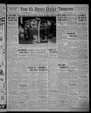 Primary view of object titled 'The El Reno Daily Tribune (El Reno, Okla.), Vol. 50, No. 309, Ed. 1 Friday, February 27, 1942'.