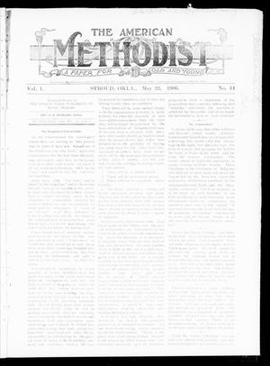 Primary view of object titled 'The American Methodist (Stroud, Okla.), Vol. 1, No. 44, Ed. 1 Wednesday, May 23, 1906'.