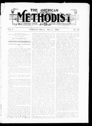 Primary view of object titled 'The American Methodist (Stroud, Okla.), Vol. 1, No. 42, Ed. 1 Wednesday, May 9, 1906'.