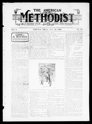 Primary view of object titled 'The American Methodist (Stroud, Okla.), Vol. 1, No. 32, Ed. 1 Wednesday, February 28, 1906'.