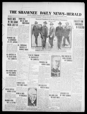 Primary view of The Shawnee Daily News-Herald (Shawnee, Okla.), Vol. 21, No. 301, Ed. 1 Thursday, June 1, 1916