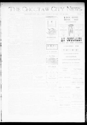 Primary view of object titled 'The Choctaw City News. (Choctaw City, Okla.), Vol. 1, No. 3, Ed. 1 Friday, February 23, 1894'.