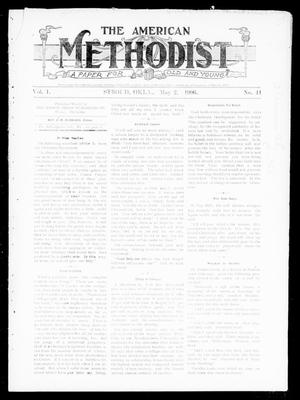 Primary view of object titled 'The American Methodist (Stroud, Okla.), Vol. 1, No. 41, Ed. 1 Wednesday, May 2, 1906'.