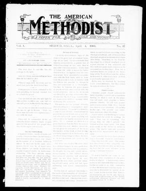 Primary view of object titled 'The American Methodist (Stroud, Okla.), Vol. 1, No. 37, Ed. 1 Wednesday, April 4, 1906'.