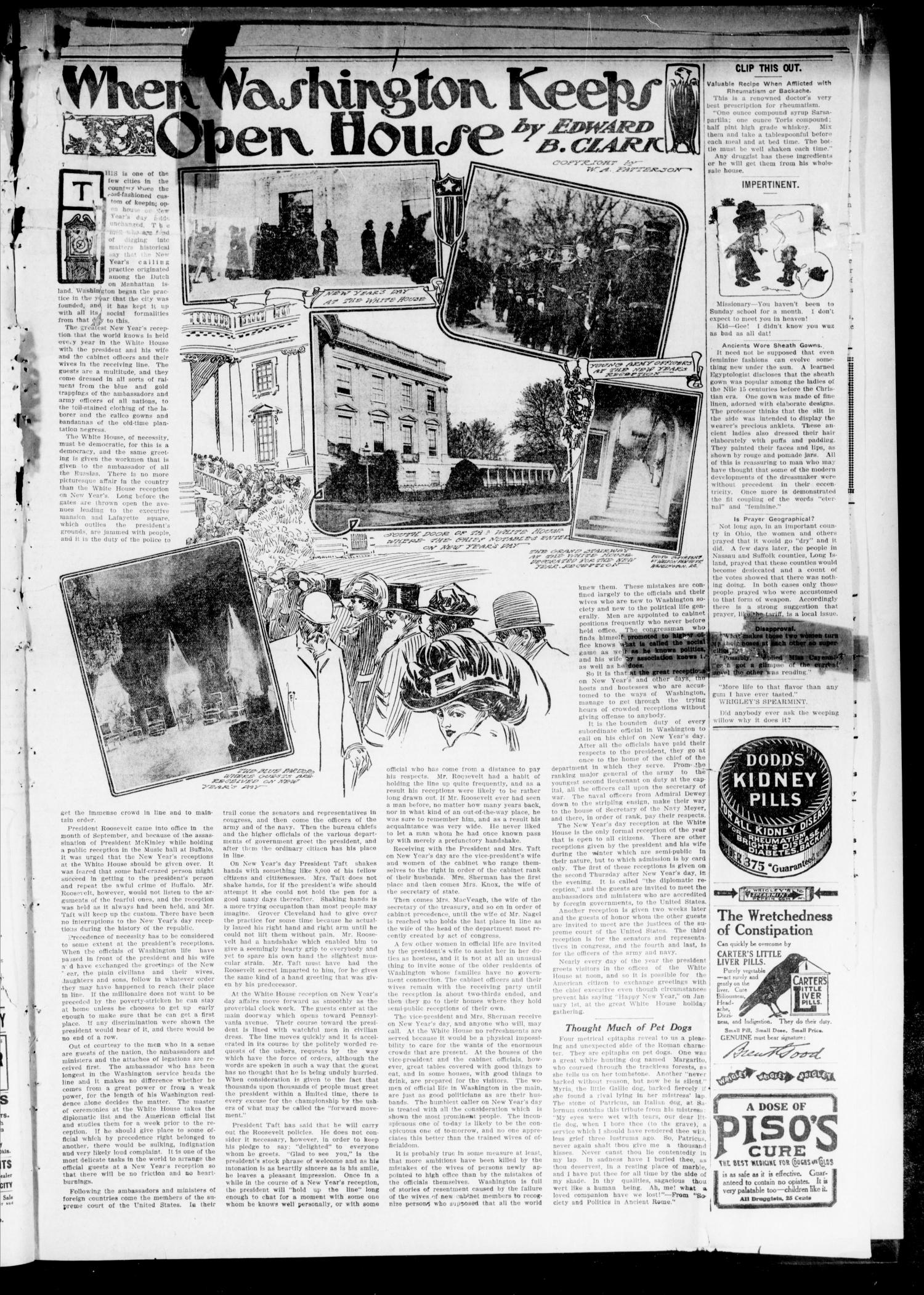 The Lincoln County Journal (Stroud, Okla.), Vol. 4, No. 41, Ed. 1 Friday, December 24, 1909                                                                                                      [Sequence #]: 3 of 8