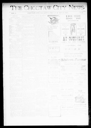 Primary view of object titled 'The Choctaw City News. (Choctaw City, Okla.), Vol. 1, No. 4, Ed. 1 Friday, March 2, 1894'.