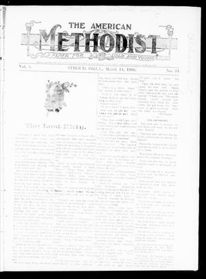 Primary view of object titled 'The American Methodist (Stroud, Okla.), Vol. 1, No. 34, Ed. 1 Wednesday, March 14, 1906'.