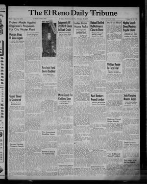 Primary view of object titled 'The El Reno Daily Tribune (El Reno, Okla.), Vol. 52, No. 303, Ed. 1 Sunday, February 20, 1944'.