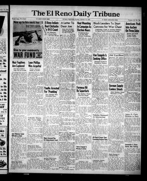 Primary view of object titled 'The El Reno Daily Tribune (El Reno, Okla.), Vol. 53, No. 194, Ed. 1 Sunday, October 15, 1944'.