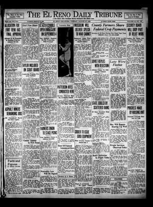 Primary view of object titled 'The El Reno Daily Tribune (El Reno, Okla.), Vol. 44, No. 153, Ed. 1 Tuesday, August 27, 1935'.