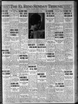 Primary view of object titled 'The El Reno Sunday Tribune (El Reno, Okla.), Vol. 38, No. 316, Ed. 1 Sunday, October 12, 1930'.