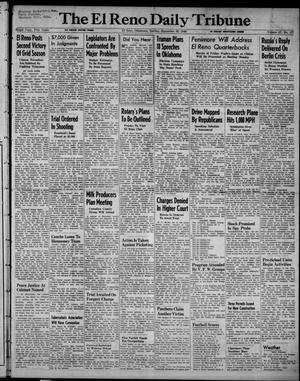 Primary view of object titled 'The El Reno Daily Tribune (El Reno, Okla.), Vol. 57, No. 177, Ed. 1 Sunday, September 26, 1948'.