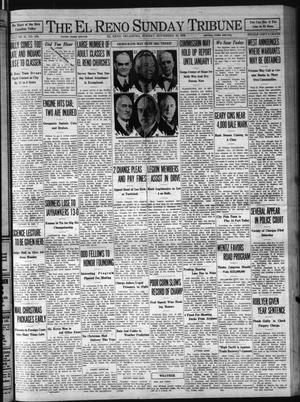 Primary view of object titled 'The El Reno Sunday Tribune (El Reno, Okla.), Vol. 39, No. 246, Ed. 1 Sunday, November 16, 1930'.