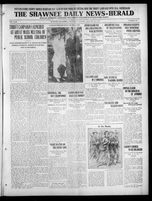 Primary view of The Shawnee Daily News-Herald (Shawnee, Okla.), Vol. 23, No. 239, Ed. 1 Wednesday, January 23, 1918