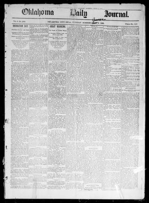Primary view of object titled 'Oklahoma Daily Journal (Oklahoma City, Okla.), Vol. 2, No. 209, Ed. 1 Tuesday, June 2, 1891'.