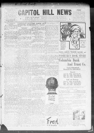 Primary view of object titled 'Capitol Hill News (Capitol Hill, Okla.), Vol. 4, No. 14, Ed. 1 Saturday, December 19, 1908'.