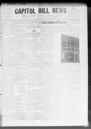 Primary view of object titled 'Capitol Hill News (Capitol Hill, Okla.), Vol. 4, No. 19, Ed. 1 Saturday, January 23, 1909'.