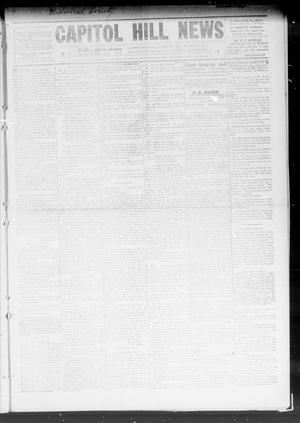 Primary view of object titled 'Capitol Hill News (Capitol Hill, Okla.), Vol. 4, No. 38, Ed. 1 Saturday, June 12, 1909'.