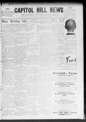Primary view of object titled 'Capitol Hill News (Capitol Hill, Okla.), Vol. 4, No. 23, Ed. 1 Saturday, February 20, 1909'.
