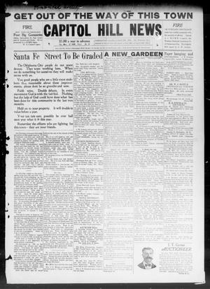 Primary view of object titled 'Capitol Hill News (Capitol Hill, Okla.), Vol. 4, No. 27, Ed. 1 Saturday, March 27, 1909'.
