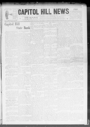 Primary view of object titled 'Capitol Hill News (Capitol Hill, Okla.), Vol. 3, No. 47, Ed. 1 Saturday, August 15, 1908'.
