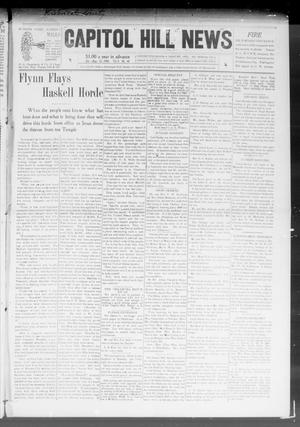 Primary view of object titled 'Capitol Hill News (Capitol Hill, Okla.), Vol. 3, No. 48, Ed. 1 Saturday, August 22, 1908'.