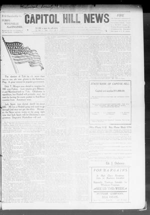 Primary view of object titled 'Capitol Hill News (Capitol Hill, Okla.), Vol. 4, No. 8, Ed. 1 Saturday, November 7, 1908'.
