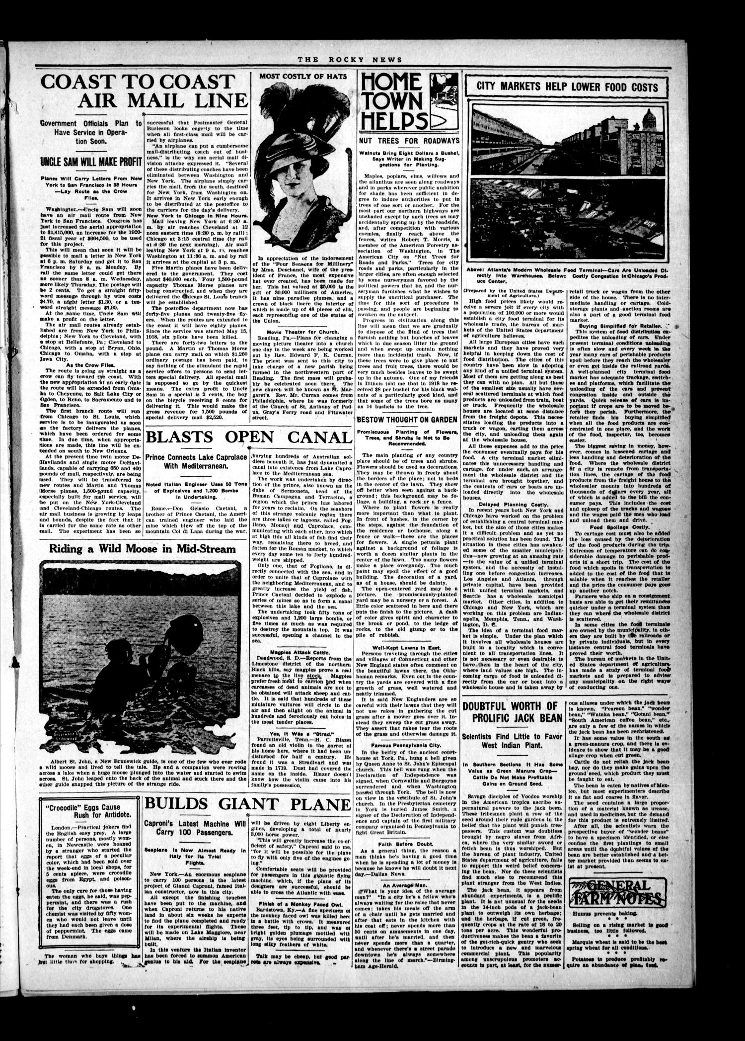 The Rocky News (Rocky, Okla.), Vol. 1, No. 48, Ed. 1 Friday, June 11, 1920                                                                                                      [Sequence #]: 3 of 4