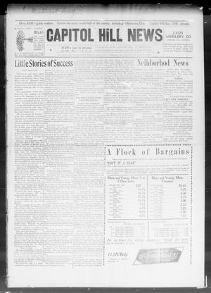 Primary view of object titled 'Capitol Hill News (Capitol Hill, Okla.), Vol. 3, No. 41, Ed. 1 Wednesday, July 1, 1908'.