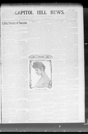 Primary view of object titled 'Capitol Hill News. (Capitol Hill, Okla.), Vol. 2, No. 50, Ed. 1 Thursday, August 15, 1907'.