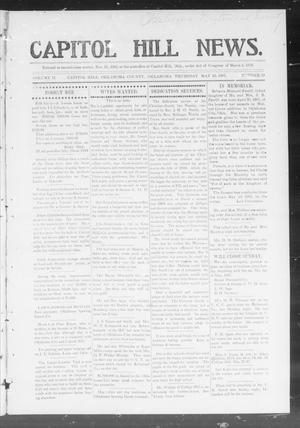 Primary view of object titled 'Capitol Hill News. (Capitol Hill, Okla.), Vol. 2, No. 39, Ed. 1 Thursday, May 30, 1907'.